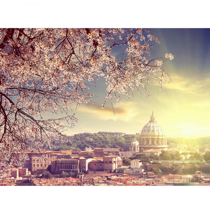 Картина АGL1-037 в раме 30*40*4,5 глянцевая Весна в Италии