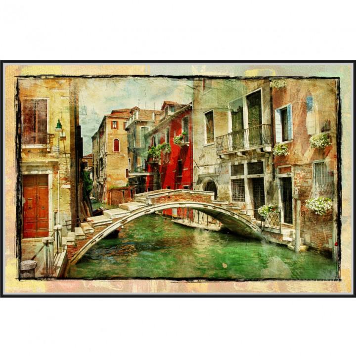 Картина 3D в раме АМ6-004 80*120*4,5 Венеция