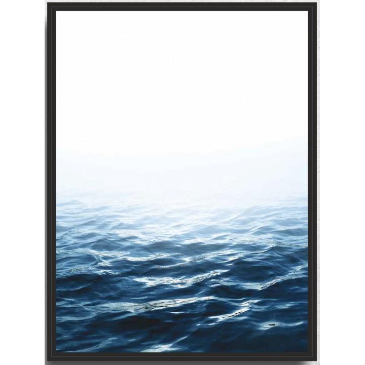 Картина PGL-47 в раме ПВХ 30*40*4,5 глянцевая Море