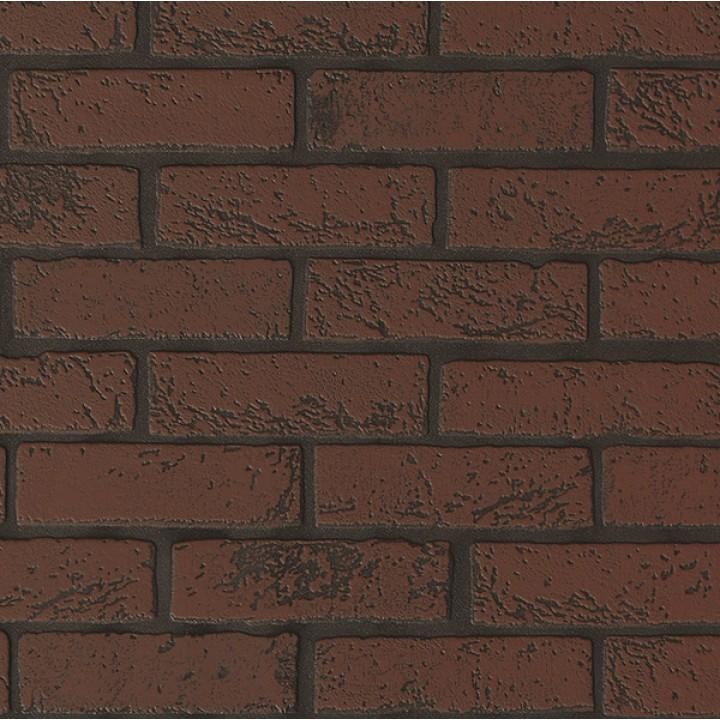 Панель МДФ с тиснением 930х2200х6 мм кирпич темно-красный 01