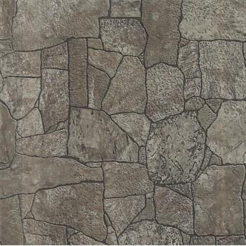 Панель МДФ с тиснением 930х2200х6 мм камень коричневый 09