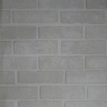 Панель МДФ с тиснением 930х2200х6 мм серый кирпич 08