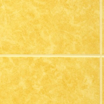 Листовая панель ДВП Eucatex Carrara Gold 6x6/Каррара золотая 15х15 (1220x2440x3 мм)
