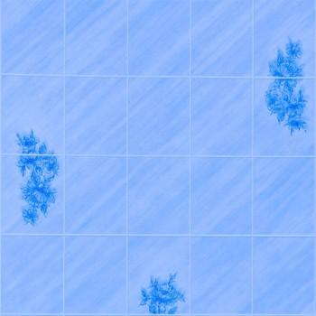 Листовая панель ДВП Eucatex Celeste Lily 6x8/Лилия Голубая 15х20 (1220x2440x3 мм)