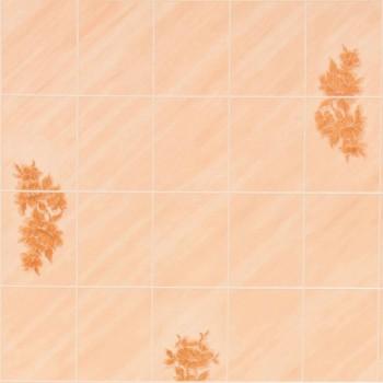 Листовая панель ДВП Eucatex Talavera Lily 6x8/Бежевая Лилия 15х20 (1220x2440x3 мм)