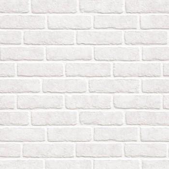 Панель декоративная матовая 2440х600х4 мм Кирпич белый PM 001 (кухонный фартук МДФ)