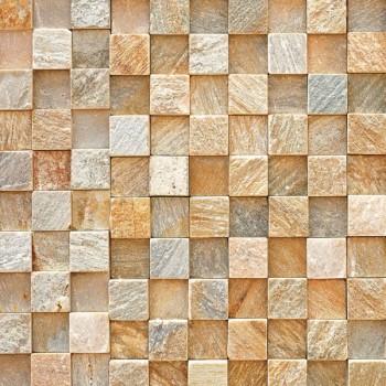 Панель декоративная матовая 2440х600х4 мм Венецианская мозаика PM 004 (кухонный фартук МДФ)