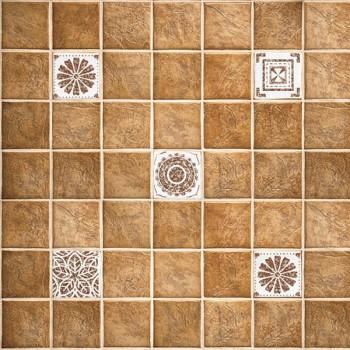 Панель декоративная матовая 2440х600х4 мм Терракотовая плитка PM 013 (кухонный фартук МДФ)