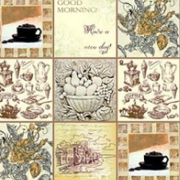 Панель декоративная матовая 2440х600х4 мм Утренний микс PM 017 (кухонный фартук МДФ)