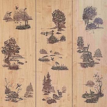 Декоративная панель МДФ RUKUS Живая природа Клен Танзау 1220х2440х3 мм