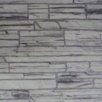 Панель МДФ с тиснением 930х2200х6 мм серый камень 11