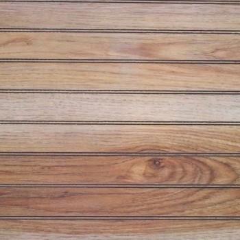 Стеновая панель Trimac Натуральный Орех Пекан с насечками под вагонку/Real Pecan Bd (фанера)